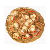 Shell Trinket Boxes In Basket 20pc