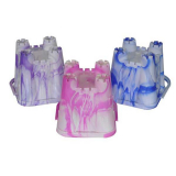 *early Buy*marble Bucket Small Castle
