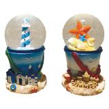 45mm Water Globe Lighthouse / Starfish