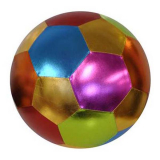 Deflated Metallic Finish Mega Ball 40cm
