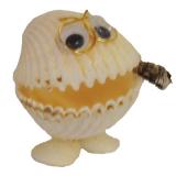 Shell Smoking Clam 5.5cm 10pc