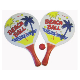 Bat & Ball Set Beach Design