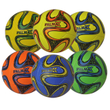 Deflated Neon Soft Touch Ball 23cm 6astd
