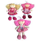 Rag Doll 20cm - 3 Assorted Designs