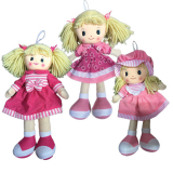 Rag Doll 40cm - 3 Assorted Designs