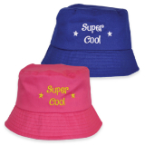 Hat Kids Bucket Shape Super Cool