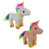 Plush Rainbow Unicorn