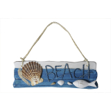 Wooden Beach Wall Hanger