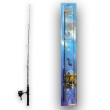 Fishing Set 63inch (160cm) 2pc Carded