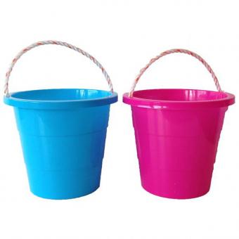 bucket 8 5 inch rnd 3 tier rope handle palgrave. Black Bedroom Furniture Sets. Home Design Ideas