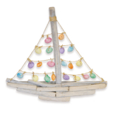 Galleon  With Coloured Clamrose Sail