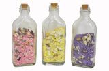 Shells In Bottle Coloured Sand 11cm