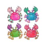 Magnet Glitter Crab