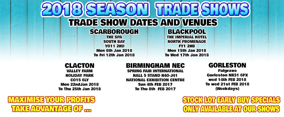 trade shows 2018