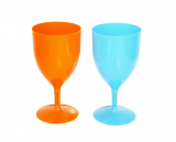 Wine Goblet 2pc Solid Col