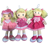 Rag Doll 30cm- 3 Assorted Designs