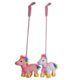Plush Rainbow Unicorn On Lead