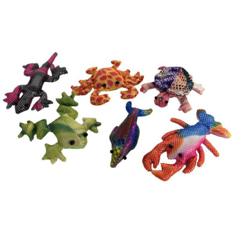 Sand Animals/sea Life 6 Asstd