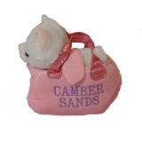 **plush Dog/unicorn In Bag *camber Sands