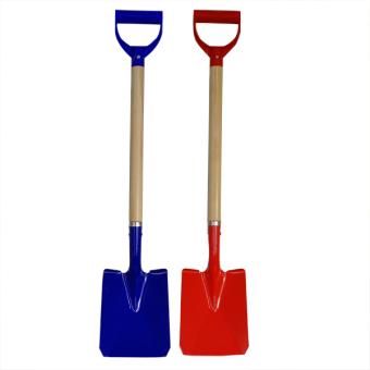 Spade Metal Shovel 77cm  Red/blue