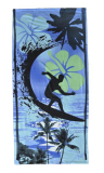 Beach Towel Surfer Design 70cm X 140cm