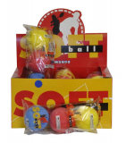 Soft Tennis Balls Pack Of 3  In A Bag