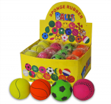 Sports Play Ball 6cm Display Boxed 4asd