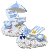 **magnet Resin  Deckchair 2 Assorted**