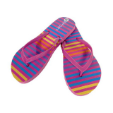 Shoe Striped Flip Flop 3-8 Uk (36-42 Eu)