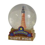 Blackpool Water Globe 6.5cm