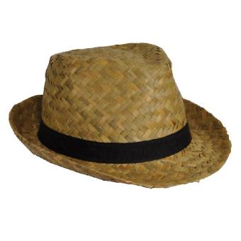 Hat Adults Straw Trilby
