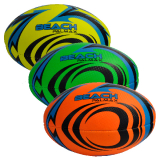 Soft Touch Rugby Ball 3 Assorted