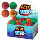 Neon Patterned  Play Ball