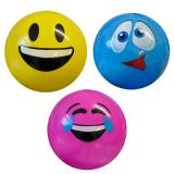 Deflated Smile Ball 22cm 3 Assorted