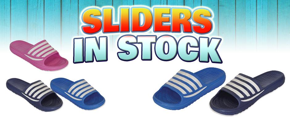 SLIDERS IN STOCK