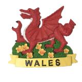Magnet Wales Dragon