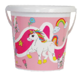 Bucket 17cm Unicorn