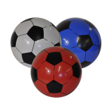 Deflated F/ball 22cm 3 Assorted