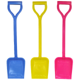 Spade Large All Plastic New Colours