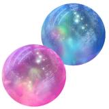 Deflated Glitter Ball 9 Inch 2 Asstd