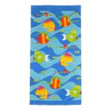 Sea Life Print Towel