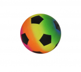 "Deflated Rainbow Trainer Ball 5"" (13cm)"