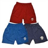 Boys Plain Shorts 8-13 With Logo