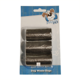 Dog Waste Bags (3 Rolls)