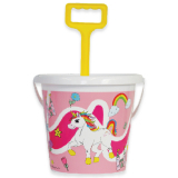 Bucket Unicorn With Spade