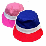 Hat Childs Col Band Bucket Style