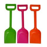 Spade 14in All Plastic Neon Cols
