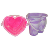Heart Bucket Marble