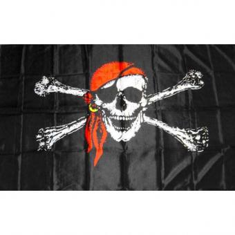 Pirate Flag Cloth 6x4 Pk 5