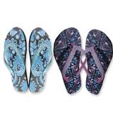 Shoe Ladies Glitter Strap Flipflop (3-8)